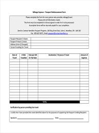 Reimbursement Template Employee Reimbursement Form Excel Magdalene Project Org