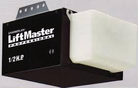 LiftMaster 1355/8065 Garage Door Opener 1/2 HP Chain Drive W/O ...