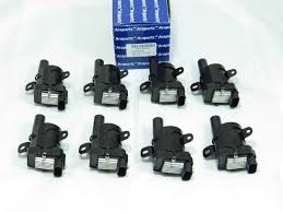 84 chevy coil wiring 84 automotive wiring diagrams m206r set of 8 ignition coils round delphi