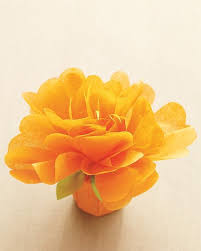 Martha Stewart Paper Flower Tissue Paper Flower Favors Template He Put A Ring On It