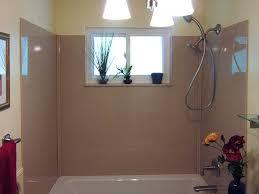 bathtub design how to install surround with window