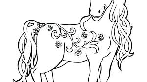 Horses Coloring Pages Tiny Horse Horse Coloring Pages For Adults