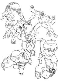 Small Picture Ben 10 Coloring Book Pdf Free Coloring Pages Part 2