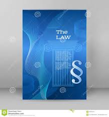 Office Cover Page Law Business Style Presentation Template Format A4 Cover Page Stock