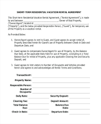 Sample Apartment Lease Agreement Template Word – Onbo Tenan