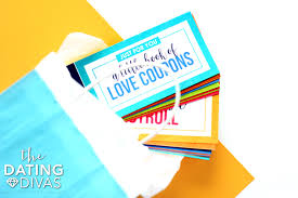 Creative Coupons For Boyfriend Diy Love Coupons For Him From The Dating Divas