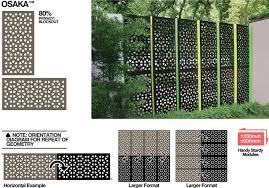 outdoor garden screens privacy designs