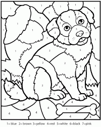 Browse and print these coloring pages to help kids practice skills like number kids love to color by numbers and we've got a bunch for you to choose from. Printable Coloring Pages Color By Number Coloring Home