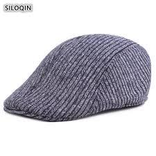 <b>SILOQIN Autumn</b> And <b>Winter Men's</b> Cap Thick Warm Cotton Berets ...