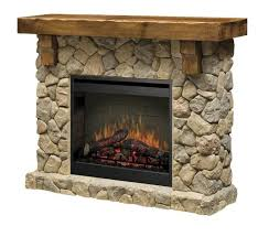 dimplex fieldstone electric fireplace stone look w 26 firebox remote free sh