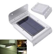 Best Solar Security Light Solar Power Human Body Sensitive Motion Sensor Light Home Garden Security Lamp