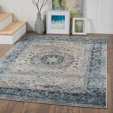 home and furniture alluring blue and brown area rugs at com orian geometric divulge
