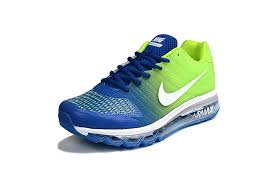 nike running shoes for men blue. nike air max 2017 blue green men shoes pvc running for s