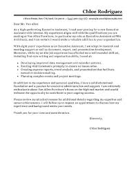Cover Letter Administrative Assistant Administration Office