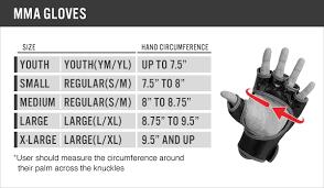 Boxing Glove Size Chart Kids Boxing Gloves Size Chart Bedowntowndaytona Com