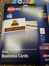 Avery 5371 Business Cards