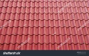 Asbestos Sheet Roof Design Texture Fiber Cement Roof Sheet Red Stock Photo Edit Now