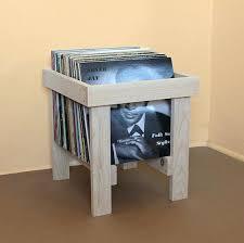 record crate in solid pine vinyl storage diy rack vinyl record storage ideas diy