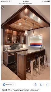 Home Bar Designs Pinterest Pin By Scott Babashak On Bar Basement Kitchen Basement