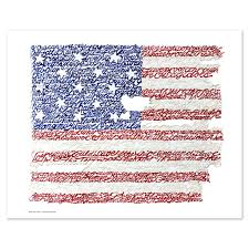 american flag word art american flag national anthem word art print art of words