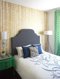 gold metallic accent wall transitional