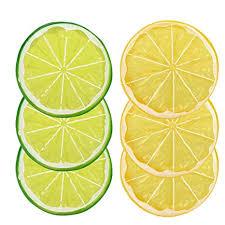 Zoylink 6PCS Lemon Slice Creative Decorative ... - Amazon.com