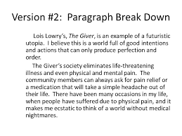 utopia essay essay on utopia gxart utopia vs dystopia alevel  utopia final essay complete sentences topic sentence or version paragraph break down lois lowry s the
