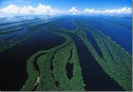 Великая река Амазонка Еще одно достижение Амазонки это устье реки самая большая дельта в мире ширина которой достигает 325 км Река является судоходной на две трети своей