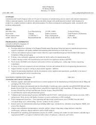 Engineering Technician Resumes Manufacturing Technician Resume Manufacturing Technician Resume