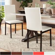 Darcy Espresso Metal Upholstered Dining Chair By Inspire Q Bold