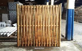 outdoor bamboo panels bamboo fence