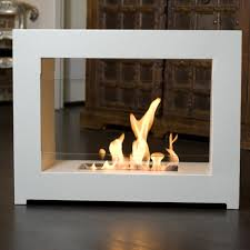Amazoncom OK Lighting Portable Fireplace With Faux Stone Dark Indoor Portable Fireplace