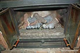 do ventless gas fireplaces smell chimney s gas fireplace