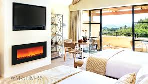 thin electric fireplace ultra