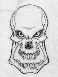 monster creature drawings.  Monster Drawing Monster  Evil Skull For Monster Creature Drawings