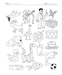 color the picture which start with4