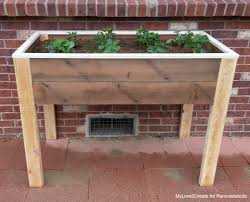 build an elevated planter box