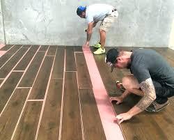 installing vinyl plank flooring over concrete tile slab p