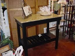 GRANITE TOP Wine Bar  Buffet Table