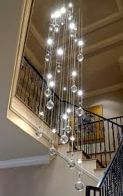 glass bubble light chandelier