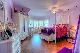 bedroom ideas white furniture. Beautiful Girls Bedroom With White Furniture And Bright Purple Decor Ideas