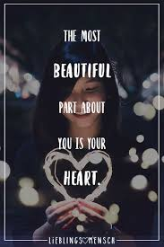 Visual Statements The Most Beautiful Part About You Is Your Heart