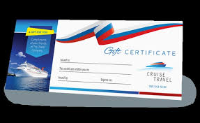 Cruise Gift Certificate Template Make A Gift Certificate Cruise Gift Certificate Template