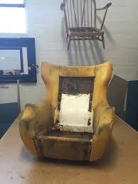 knoll egg chair. Reloved Upholstery Parker Knoll Statesman 1028 Shell Egg Chair