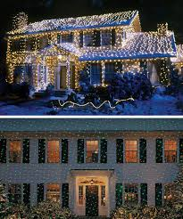 outside christmas lighting. You Can Pay Tribute To Clark Griswold With National Lampoon\u0027s Christmas Vacation High-density Outdoor Lights. They\u0027re Available In Warm White, Outside Lighting
