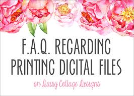 ever since i started selling bridal and baby shower invitations birth announcements and other digital files on etsy i ve had lots of questions about what