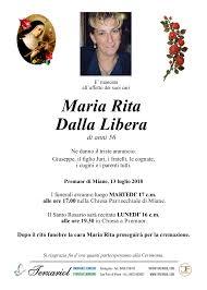 DALLA LIBERA MARIA RITA - terzariol.com