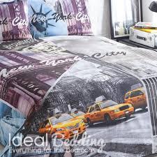 pieridae new york city scene duvet quilt bedding cover and pillowcase bedding set duvet sets complete bedding sets bed sheets pillowcase