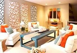 orange and blue living room orange decor for living room gorgeous orange living room ideas marvelous