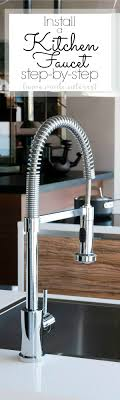Replacing A Kitchen Faucet How To Install A Kitchen Faucet Home Made Interest